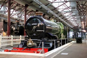 King George V at The Steam Museum, Swindon